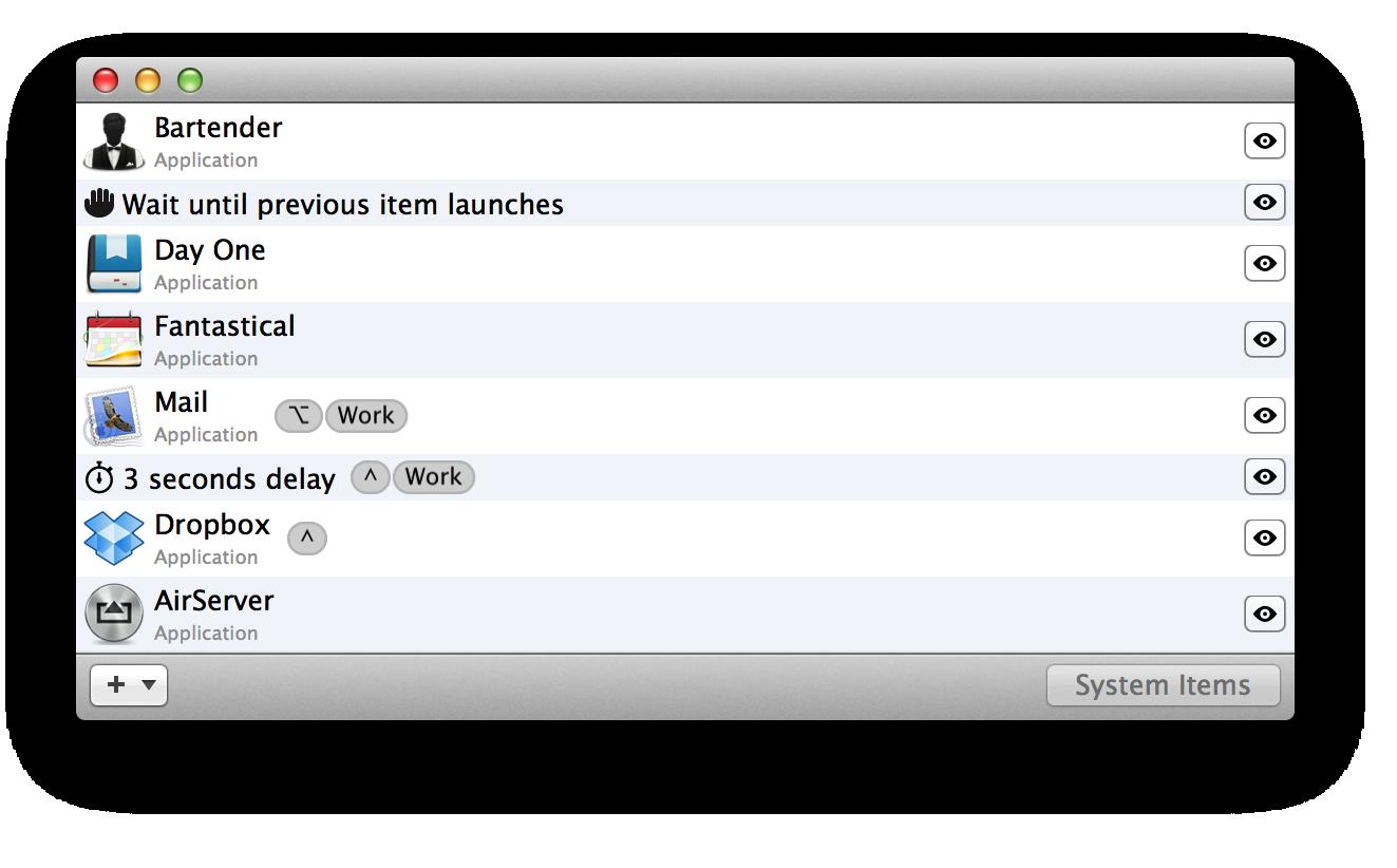 Startupizer 2 for Mac 2.3.10 破解版 - 优秀的系统启动项目管理工具